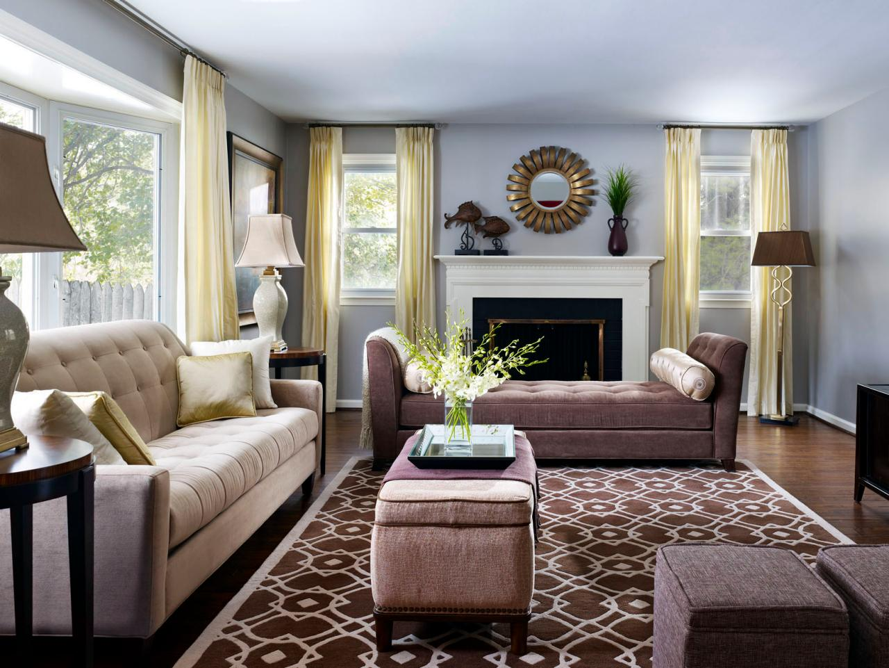 Living Room Designes How To Create A Floor Plan And Furniture Layout Hgtv