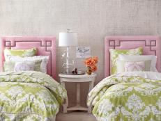 Pink Girls' Bedroom