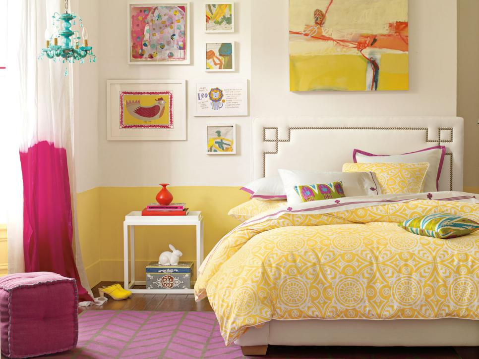 sophisticated teen bedrooms hgtv - Decorating Ideas For Teenage Girl Bedroom
