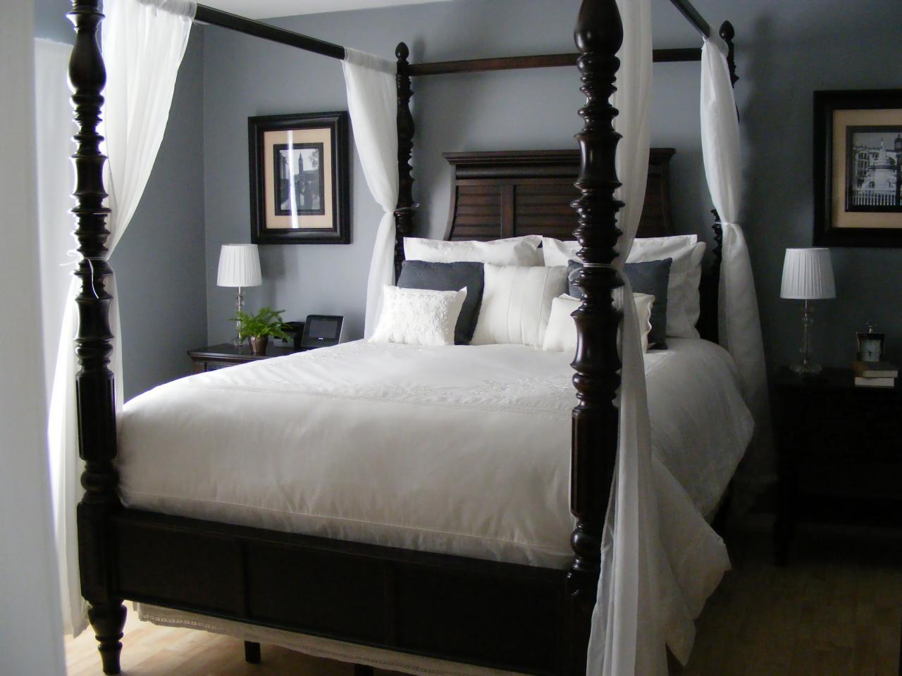 Stylish sexy bedrooms bedrooms bedroom decorating ideas hgtv Cot design for master bedroom