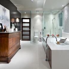 Modern Design, Spa-Like Conveniences