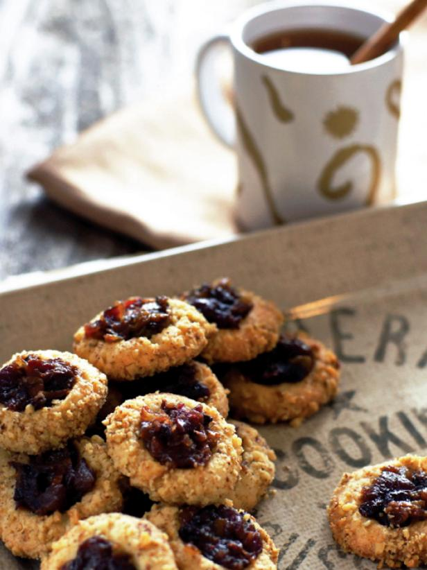 Mincemeat Thumbprint Cookies