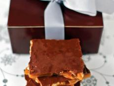 Homemade Maple Nut Toffee