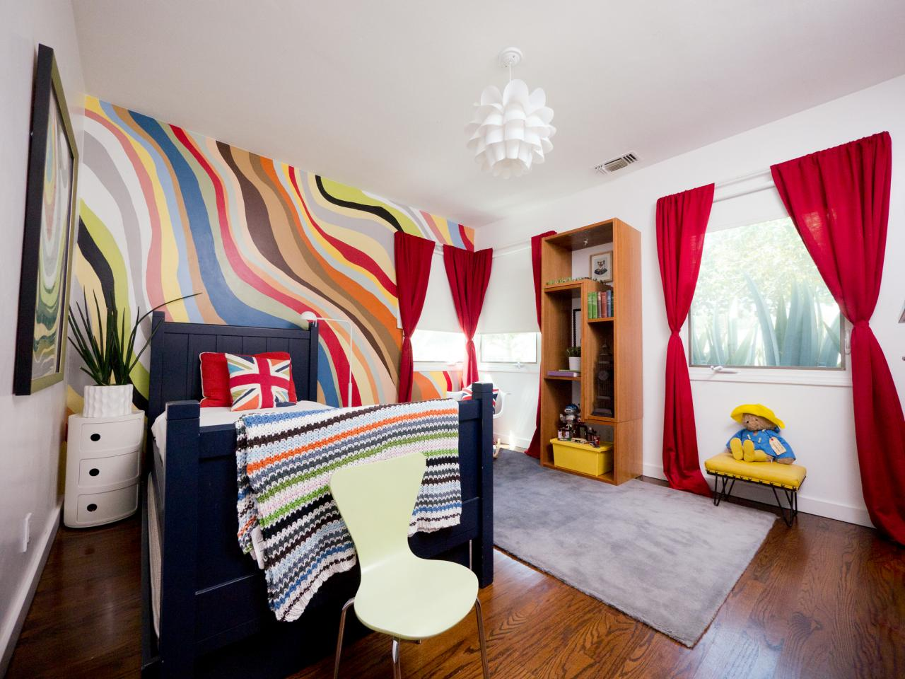 An eclectic colorful boy 39 s room kids room ideas for for Room decor for 10 year old boy