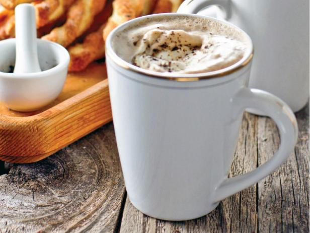 Mexican Hot Chocolate in White Mug