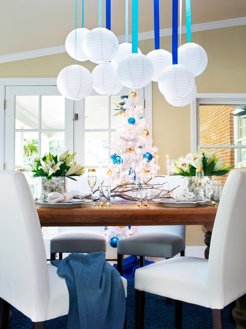 Haute Hanukkah Decorating Ideas | HGTV