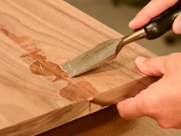 Scrape Off Excess Glue