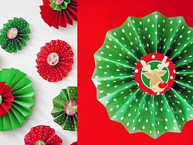 Paper Rosettes Decorations