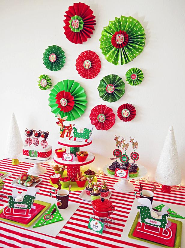 Festive Decor for a Kid-Friendly Holiday Party