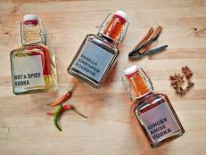 Infused Liquor Party Favors