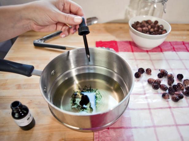 Add Food Coloring for DIY Firestarters
