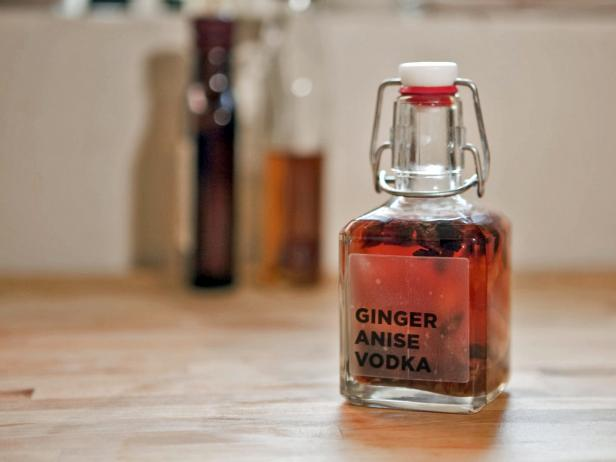 Homemade Ginger Anise Vodka