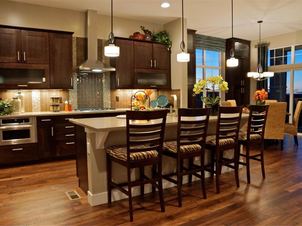 Refinishing kitchen chairs stools hgtv pictures ideas for Hgtv kitchens
