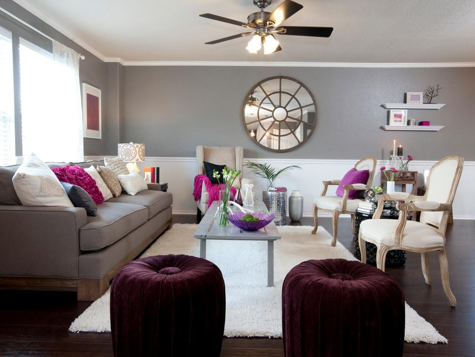 14 Ways To Decorate With Plum Hgtv