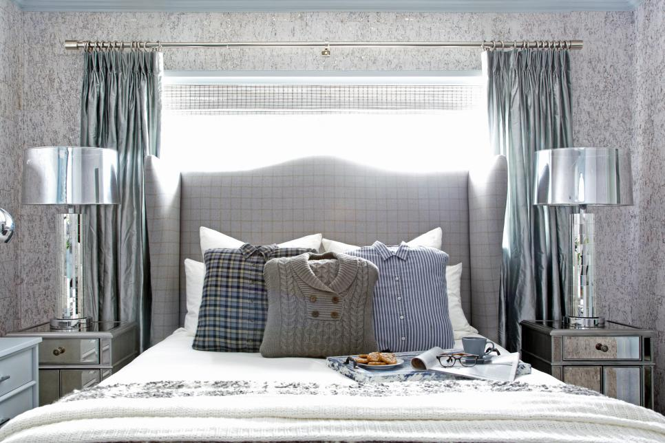 A Sophisticated Bedroom Fit for Winter Guests | HGTV