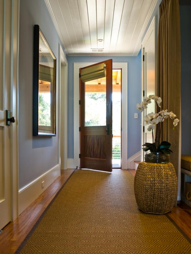Foyer Ceiling Blue : Photo page hgtv