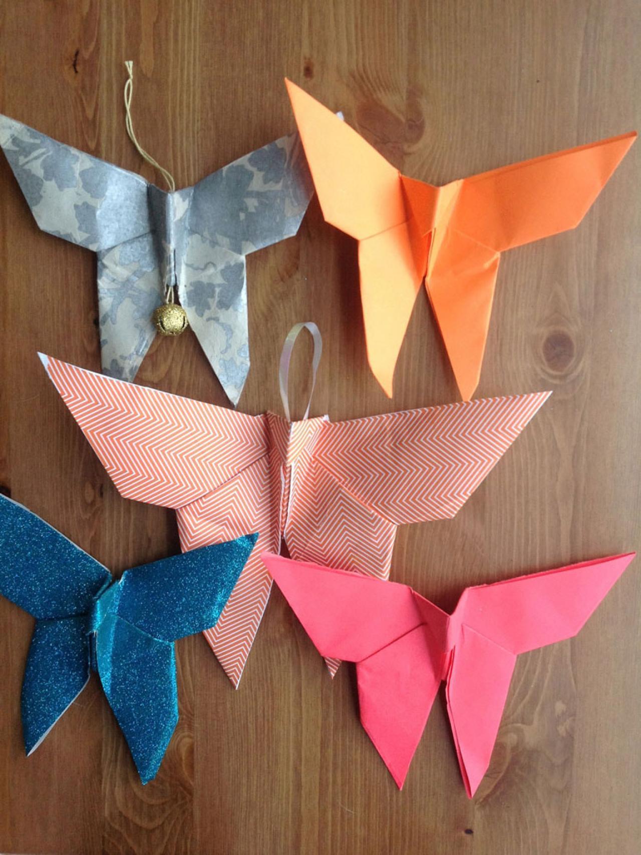 Make an Origami Christmas Ornament  HGTV