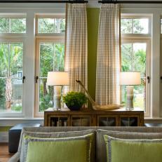 Coastal Living Room Curtains