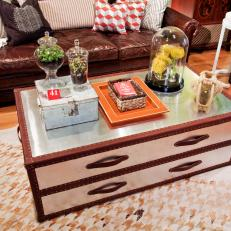 Trunk-Style Coffee Table