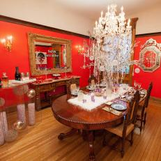 Tamara Tunies Red Dining Room