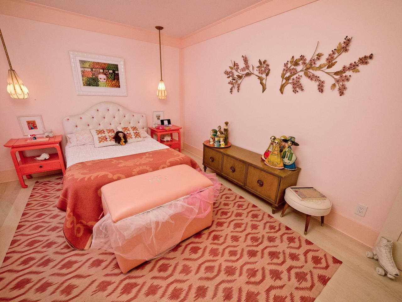 Pictures Of Girls Bedrooms Girls' Bedroom Color Schemes Pictures Options & Ideas  Hgtv