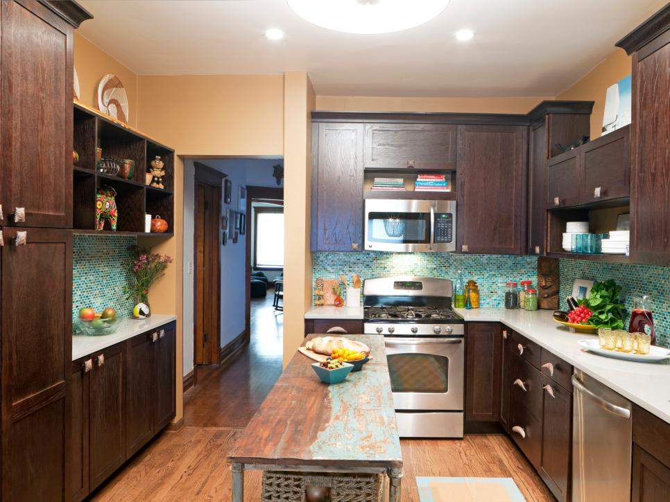 Kitchen Design Ideas For Small Kitchens November 2012: Pictures Of Small Kitchen Design Ideas From HGTV