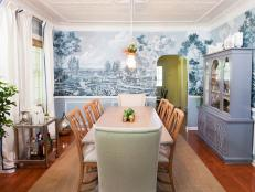 Dining Room With Tin Ceiling