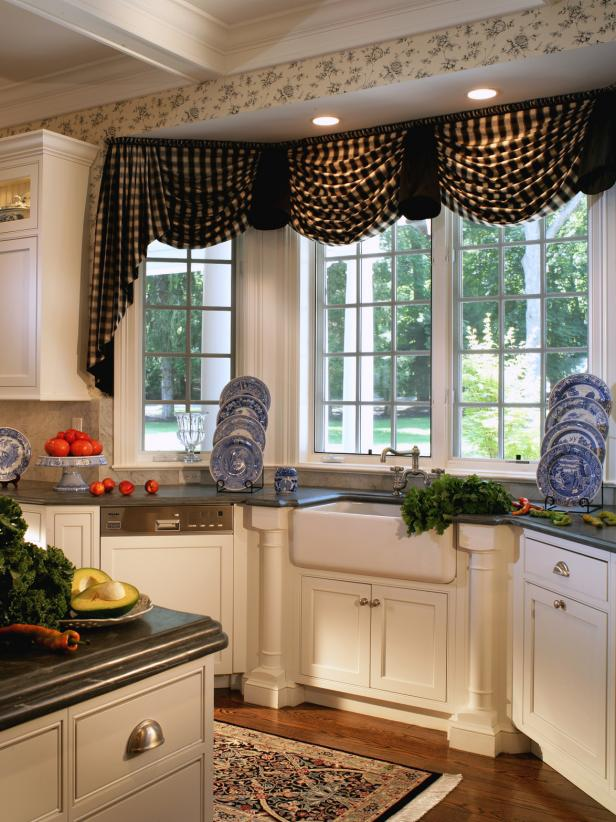 Kitchen Curtains That Will Warm Up The Heart Of Your Home | Diy