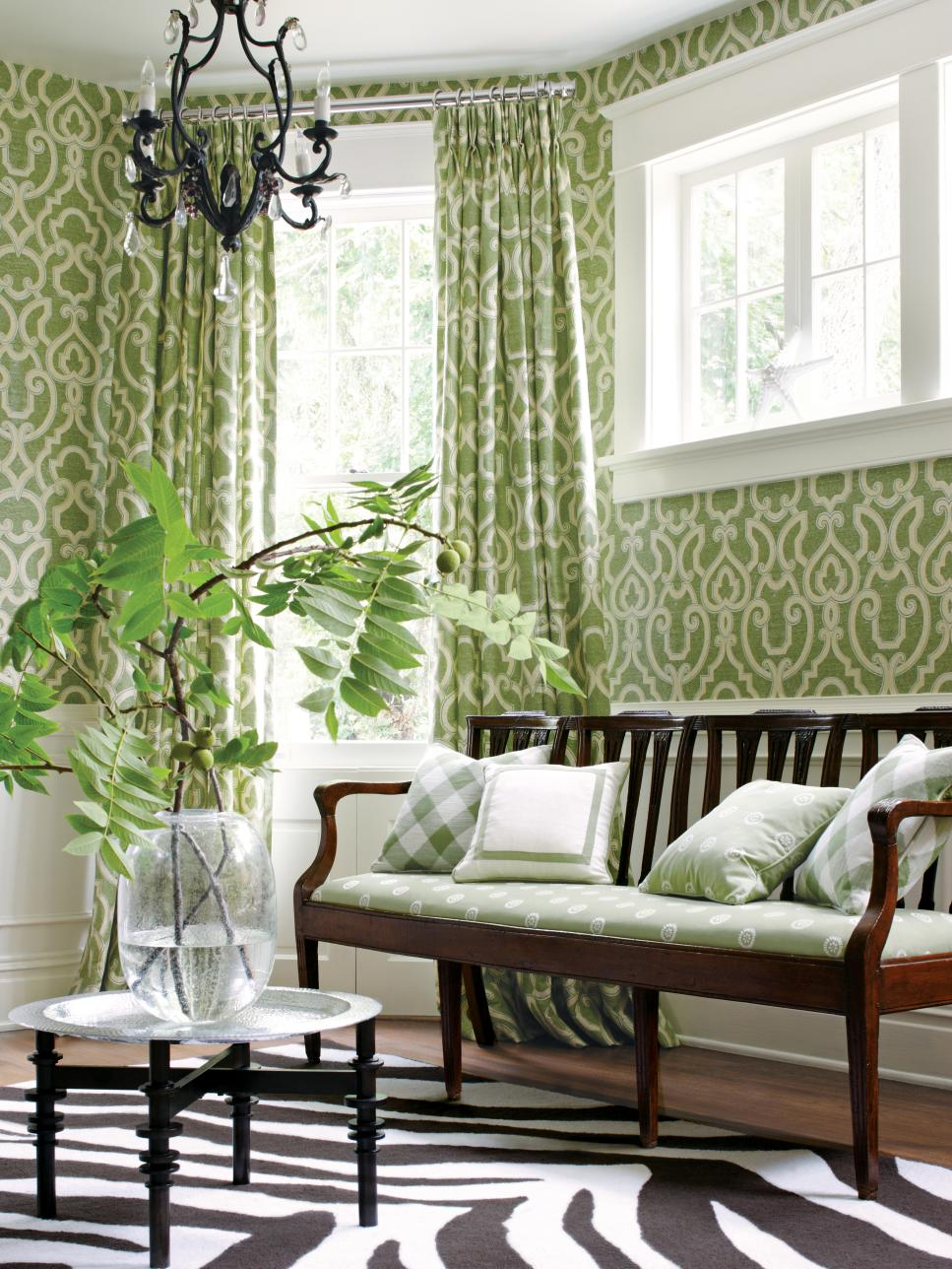 Small Living Rooms Decorating Hgtv: 10 Ways To Decorate With Green Moss