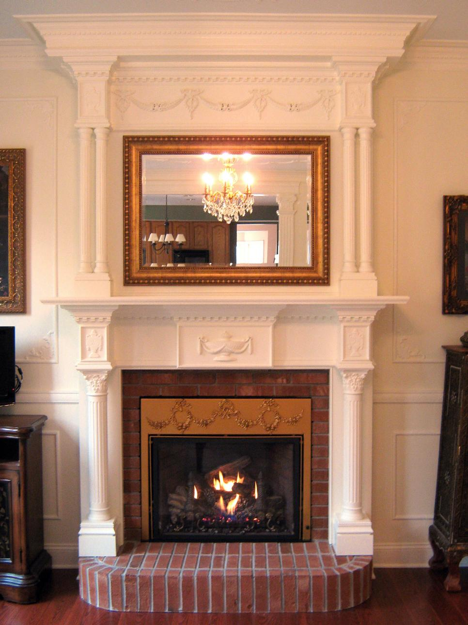 Before and after fireplace makeovers hgtv for 9 x 13 living room ideas
