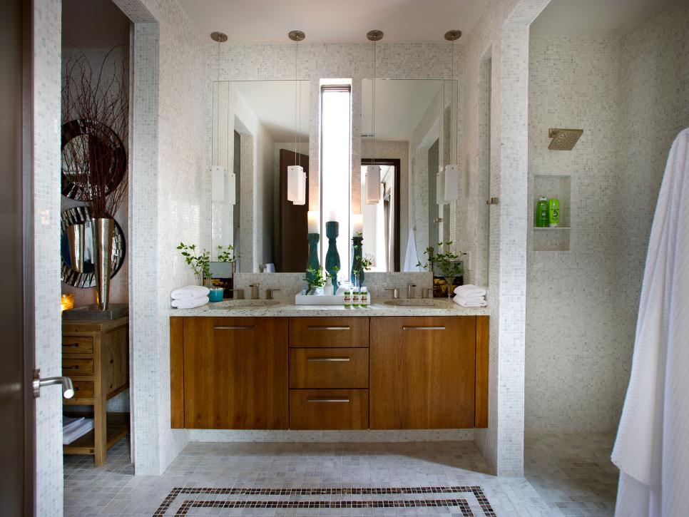 Hgtv green home 2012 beautiful rooms hgtv green home for Master bathroom designs 2012