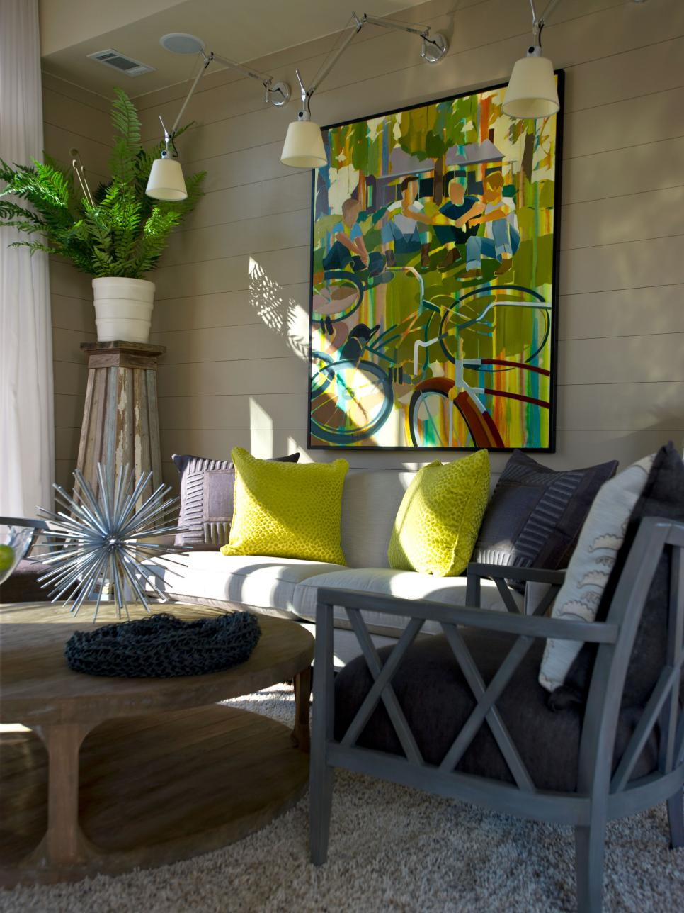 Small Living Rooms Decorating Hgtv: HGTV Green Home 2012: Living Room Pictures
