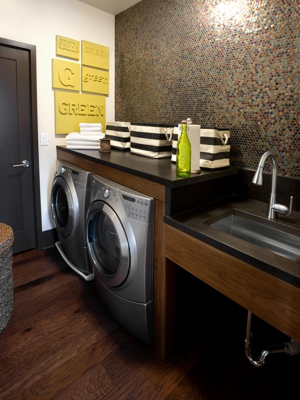 Our favorite laundry rooms from hgtv home giveaways hgtv - Laundry room design ideas ...
