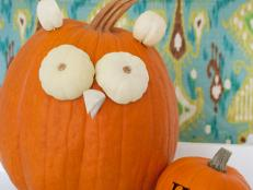 Cute Owl Pumpkin Step 7