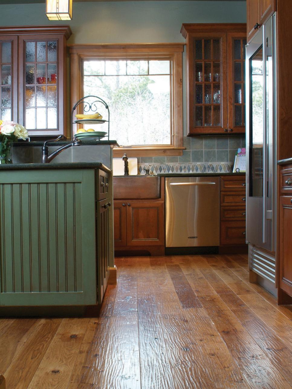 Best Floors For A Kitchen 8 Flooring Trends To Try Hgtv
