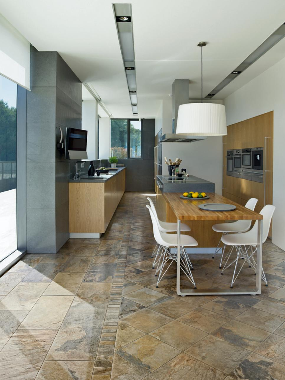 Porcelain Tile For Kitchen Floor Tile Flooring Options Hgtv