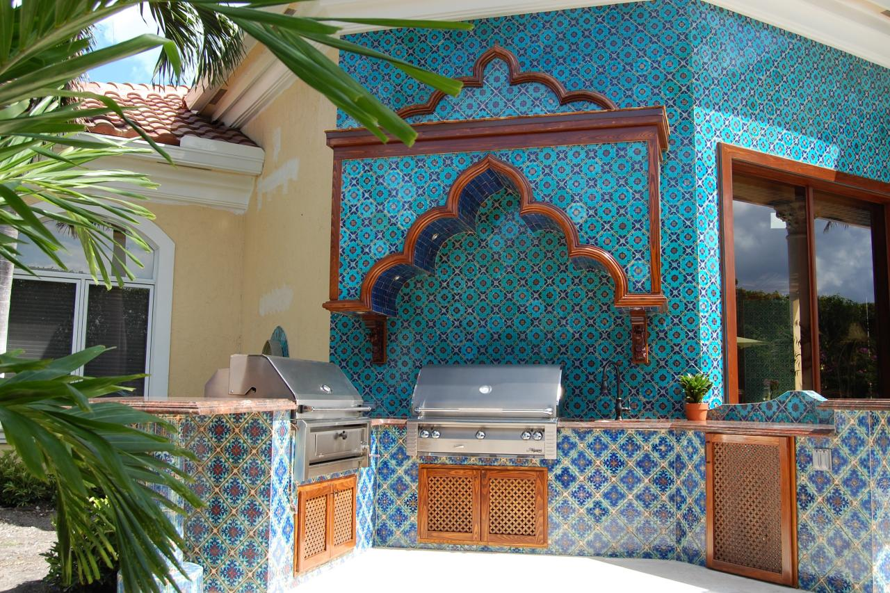 Photos hgtv Moroccan inspired kitchen design