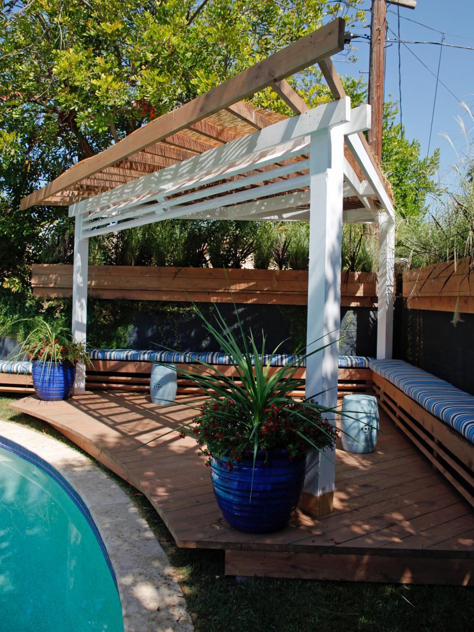 Make Shade: Canopies, Pergolas, Gazebos and More - Make Shade: Canopies, Pergolas, Gazebos And More HGTV