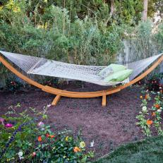 Hammock in a Garden