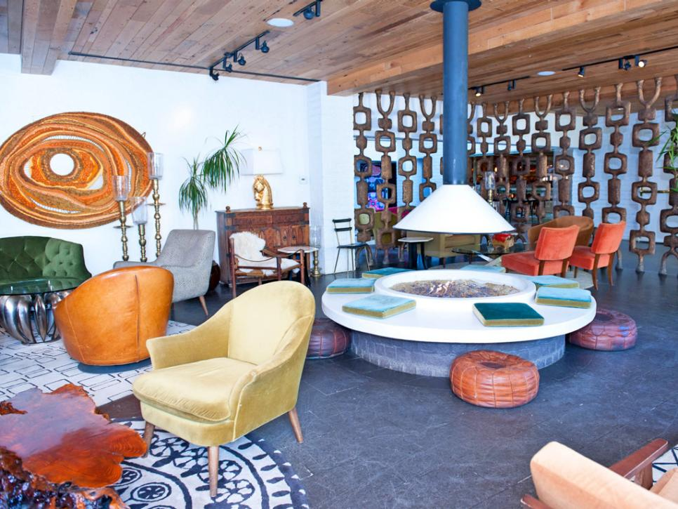 Dream vacation ultra luxurious destinations hgtv for Mid century modern furniture palm springs