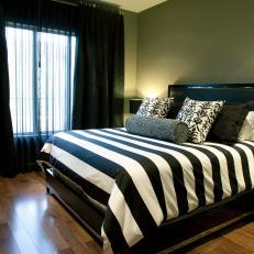 Black And White Master Bedroom
