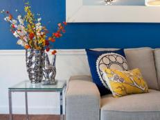 Contemporary Office With Primary Color Palette