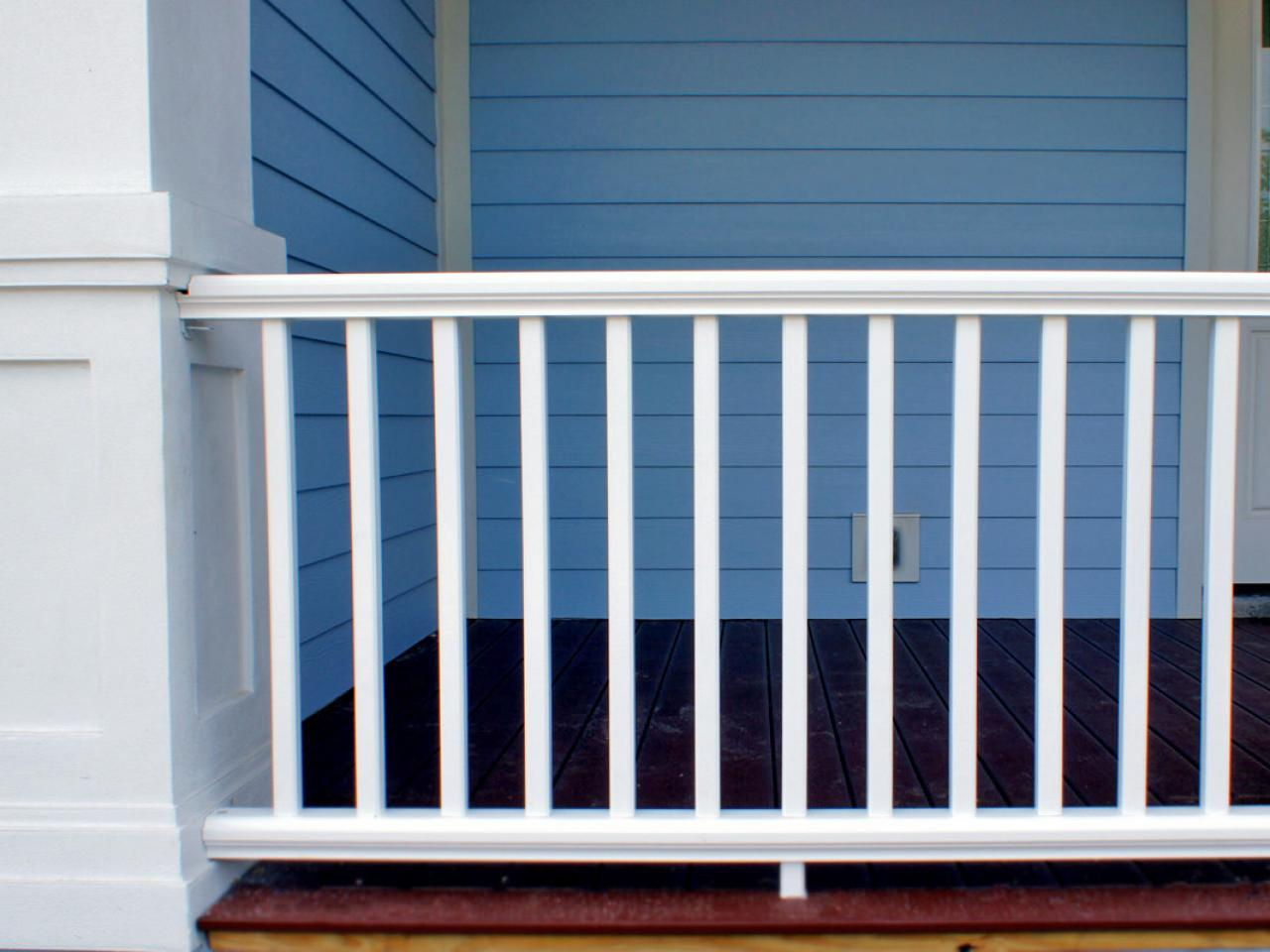 Metal Porch Railing