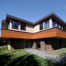 Modern Zen Luxe Home Exterior