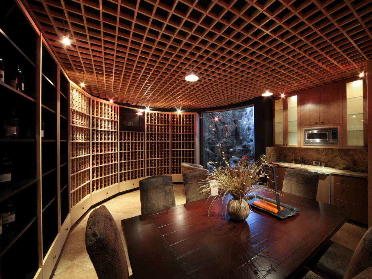 Mansion Wine Cellar : A grand tour multimillion dollar spaces from hgtv s