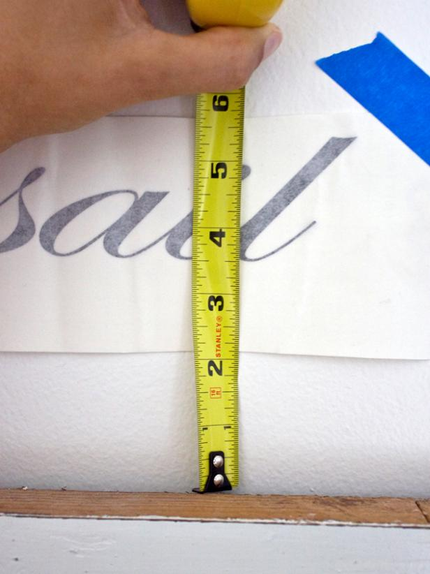 Step 3: Measuring the Vinyl Graphic