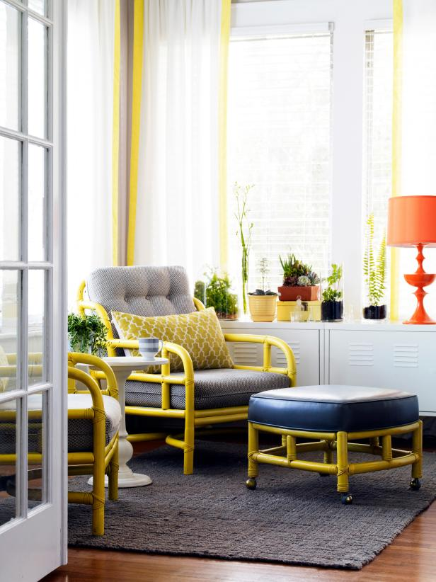 HGTV Magazine Military Family's Home Makeover: A Sunroom with Style