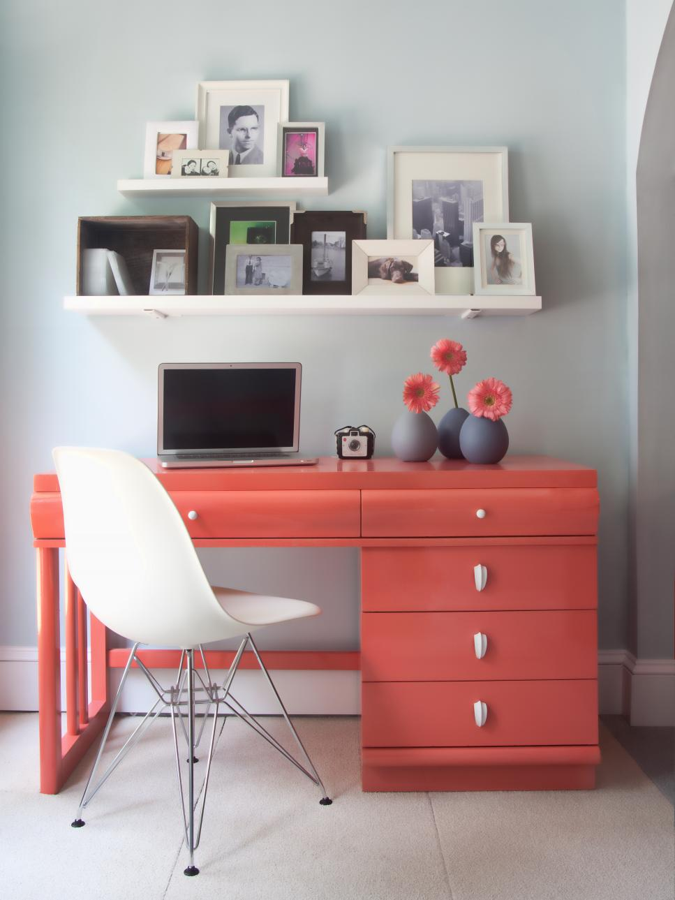 Small Desk For Small Bedroom Desks And Study Zones Hgtv