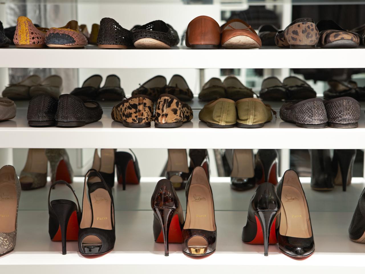Mens Shoe Closet over-the-door shoe racks and organizers | hgtv