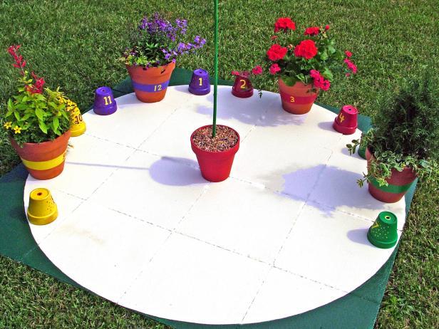 Unique Garden Pot Sundial